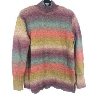 Christian Siriano colourful knit sweater large